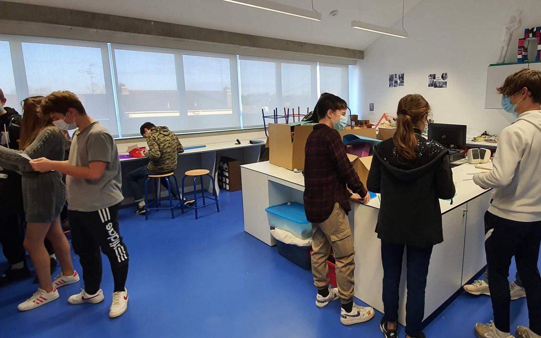 Les élèves de 3ème ont un projet EPA